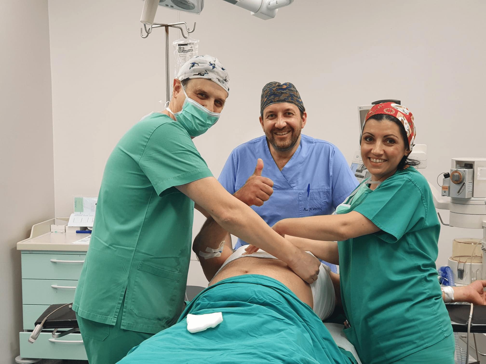 επιδεση χειρουργικου τραυματος